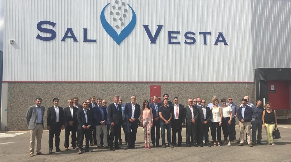 ICL y AkzoNobel finalizan la construcción de un planta conjunta en Sant Fruitós