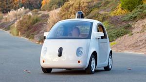 El coche sin conductor de Google.