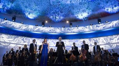 La orquesta del Liceu triunfa en el Concierto de los Derechos Humanos