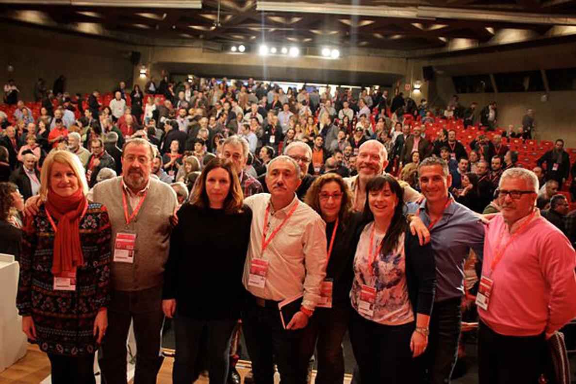 Josep Maria Álvarez en el 42º Congreso Confederalde UGT.
