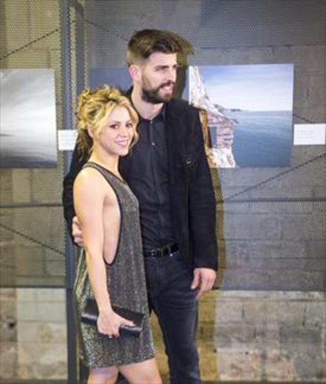 La cuarentona Shakira y treintañero Piqué