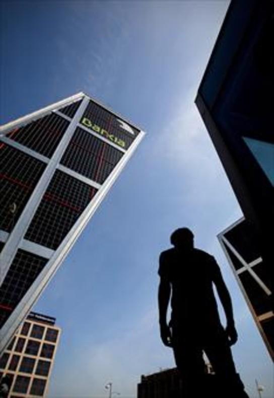 Edifficio de Bankia, en la plaza Castilla de Madrid.