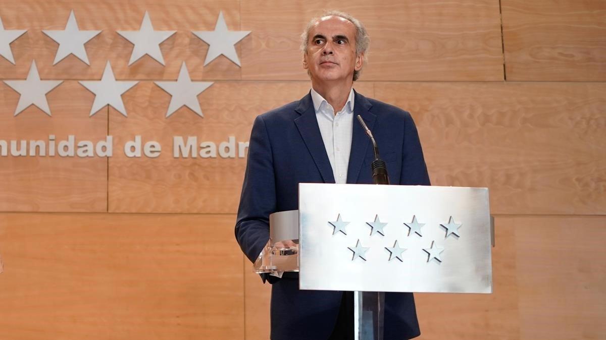 Madrid mandó por error protocolo contra mandar ancianos a hospitales
