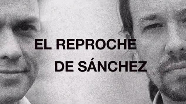 El reproche de Pedro Sánchez