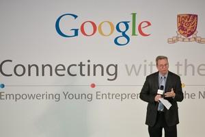 Eric Schmidt, director general de Google.