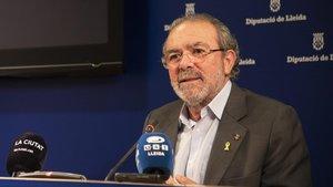 El expresidente de la Diputació de Lleida Joan Reñé.
