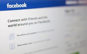 Una vista de la portada de Facebook.
