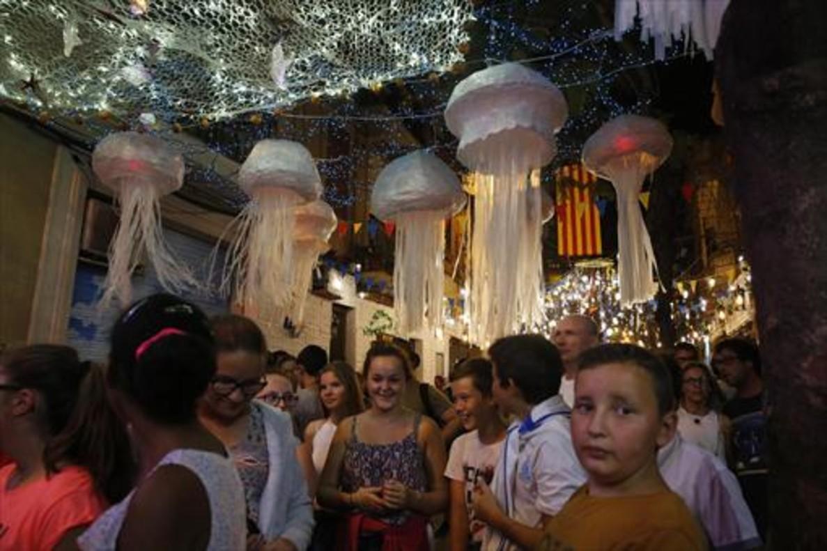 Fiestas de Gràcia del 2016.