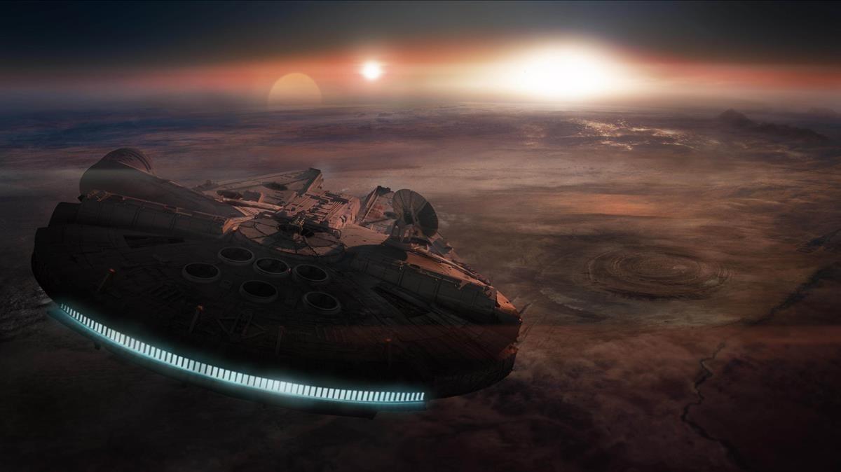 Fotograma de Star Wars. Los últimos Jedi.