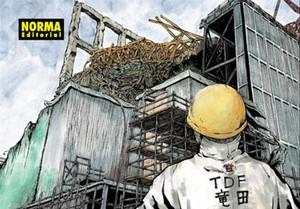 Fragmento de la portadadel manga Ichi Efu, de Kazuto Tatsuta, sobre su experiencia como trabajador en Fukushima tras el tsunami.