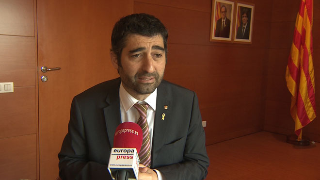 El conseller de Políticas Digitales y Administración Pública, Jordi Puigneró, explica que a partir de 2019 ofrecerá a los funcionarios de la Generalitat la posibilidad de acudir a sus puestos de trabajo el Día de la Constitución y el Día de la Hispanidad.