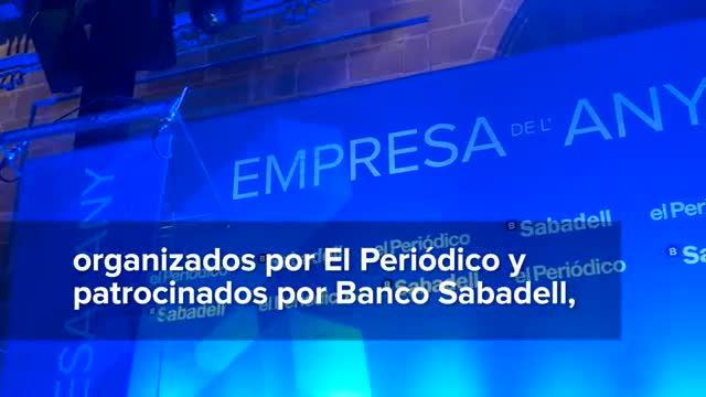 Gala Empresa del Año 2017, celebrada el lunes 15 de enero del 2018 en la Llotja de Mar de Barcelona.