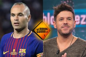 Andrés Iniesta y Pablo López, invitados de 'El Hormiguero' la próxima semana
