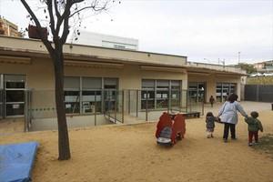 Instalaciones de la guardería municipal La Trepa de Cornellà de Llobregat, el pasado jueves.