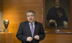 Jaume Padrós ha sido reelegido como presidente del Col·legi de Metges de Barcelona.