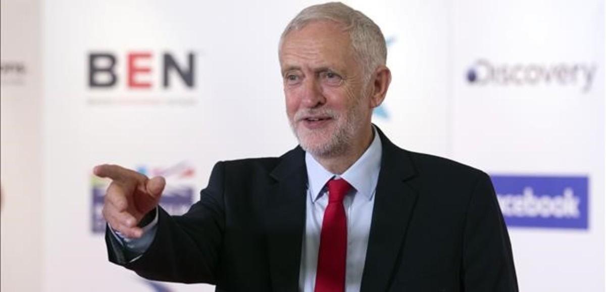 Jeremy Corbyn, durante una intervención reciente en Edimburgo.