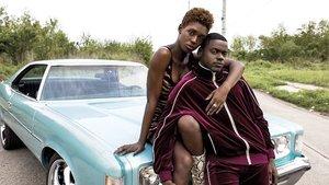 Jodie Turner-Smith y Daniel Kaluuya, en 'Queen & Slim'.
