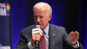 El exvicepresidente de EEUU y candidato en las primarias del Partido Demócrata, Joe Biden.