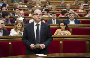 El conseller de Presidència, Jordi Turull.