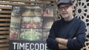 Juanjo Giménez, director de Timecode, fotografíado en Los Ángeles.