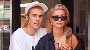 Justin Bieber y Hailey Baldwin, el año pasado en Nueva York.