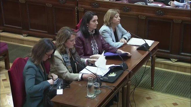 Cuatro peritos de Hacienda han certificado en el juicio del procés que la prestación de servicios vinculados con el 1-O generaron un compromiso de pago a la Generalitat y, por tanto, un perjuicio en sus arcas públicas al margen de que la administración catalana no pagara después por diversos motivos.