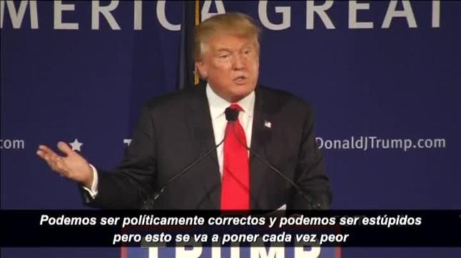 Las polémicas decalaraciones de Donald Trump.