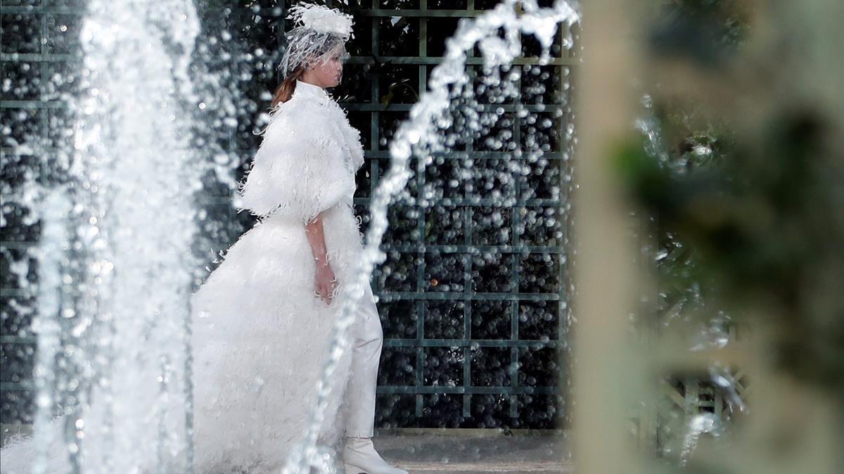 Desfile de Chanel.