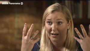 Virginia Giuffre, en su entrevista con la BBC, emitada el pasado 2 de diciembre.