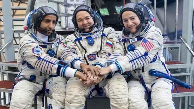Els astronautes de l'expedició 61/62 es preparen a Moscou