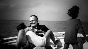 Miguel Bosé comparte varias imágenes con sus dos hijos en el Caribe.
