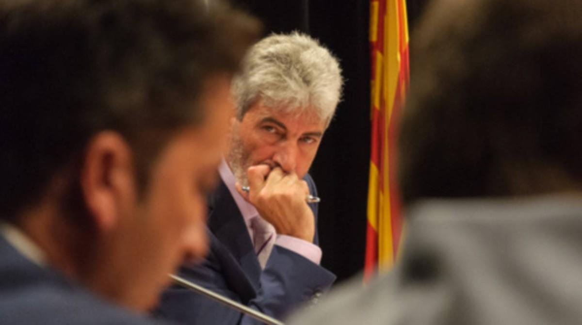 Miguel Lupiáñez, alcalde de Blanes.