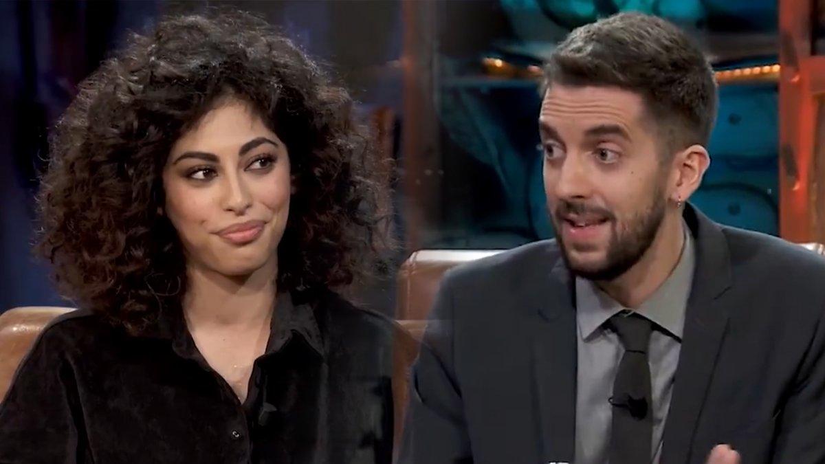 Mina El Hammani sorprèn Broncano amb la seva resposta a la pregunta del sexe