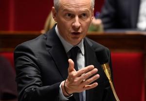 El ministro de Economía de Francia, Bruno Le Maire.
