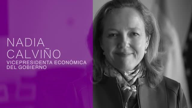 Nadia Calviño: «Vull el mateix, el millor, per als meus fills que per a les meves filles»