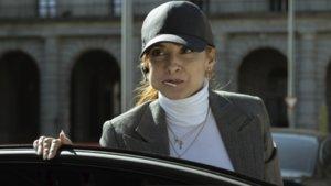 Najwa Nimri interpretando a Alicia Sierra en la tercera temporada de 'La casa de papel'.
