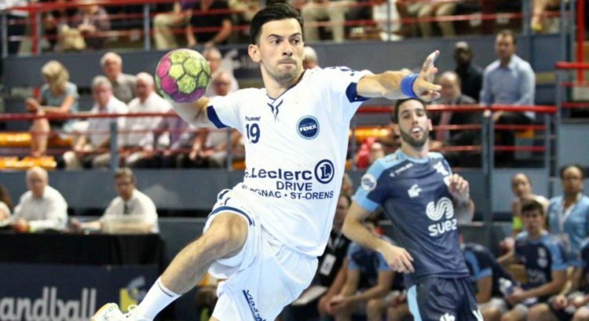 Nemanja Ilic en un partido con el Toulouse.