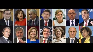 Los ministros del nuevo Gobierno de Rajoy