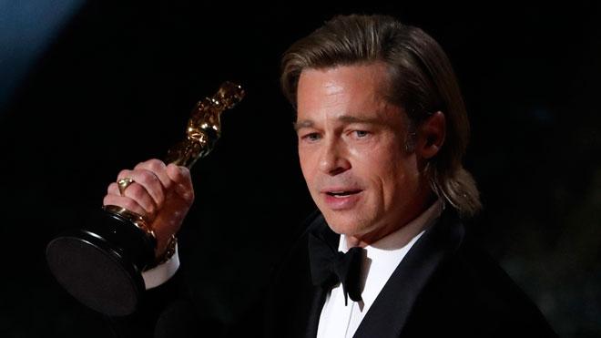 Oscars 2020. Brad Pitt se lleva el Oscar a mejor actor de reparto.