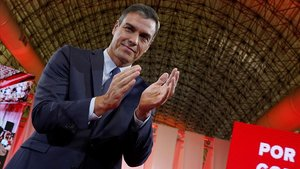 Pedro Sánchez interviene en la presentación de la propuesta abierta de Programa común progresista.