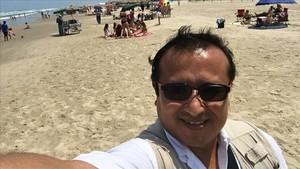 El periodista mexicano Héctor González, asesinado esta semana en el estado de Tamaulipas.