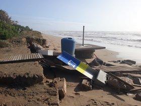 El Govern inverteix 5,75 milions d'euros per reparar els danys del 'Gloria' a la costa catalana