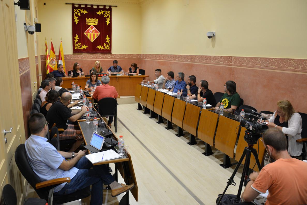 Primera sesión plenaria del curso político en el Ayuntamiento de Rubí