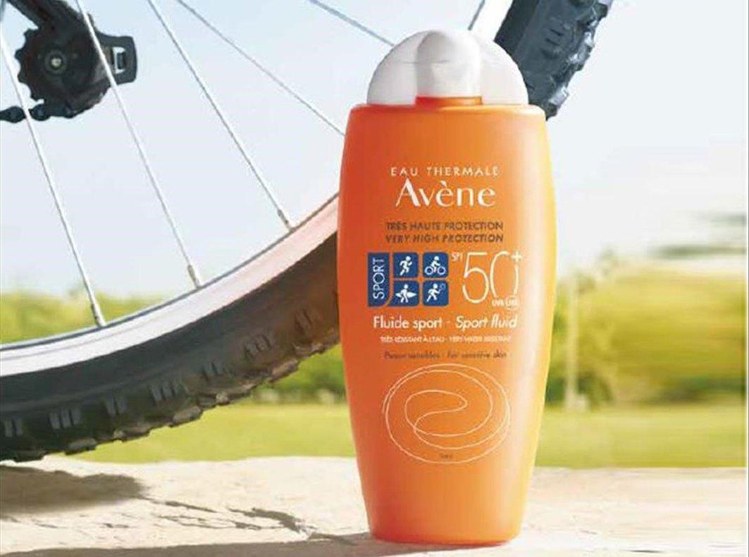 Avène presenta un nuevo fluido solar para deportistas.