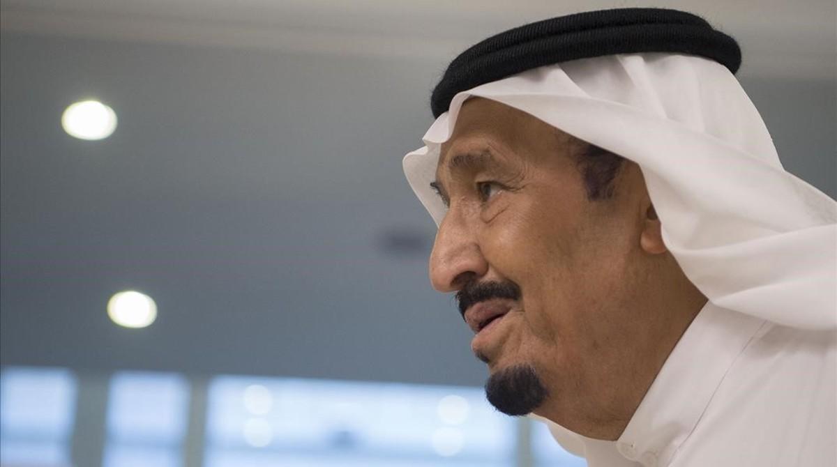 El rey Salman bin Abdulaziz.