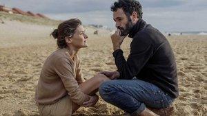 Rodrigo Sorogoyen y la actriz Marta Nieto, en el rodaje de 'Madre'