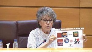 El brutal zasca de Rosa María Mateo a Vox explicando el motivo del corazón negro en TVE