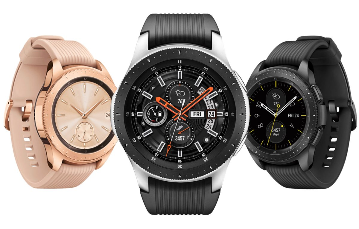 Samsung Galaxy Watch.