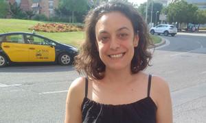 Sarai Martinez, escogida concejala en el grupo de VoleMataró en las municipales de 2015, que pasará a no adscrita por desavenencias con la portavoz del grupo, Montse Morón.