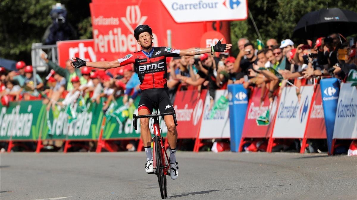 De Marchi triomfa en l'11a etapa de la Vuelta a Espanya